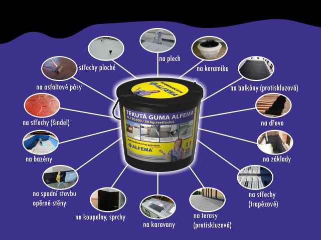Tekutá guma ALFEMA - nejen hydroizolace